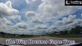 Driving Time Lapse   Dallas Texas   High Five Interchange   GoPro HD