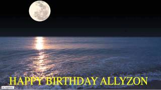 Allyzon  Moon La Luna - Happy Birthday