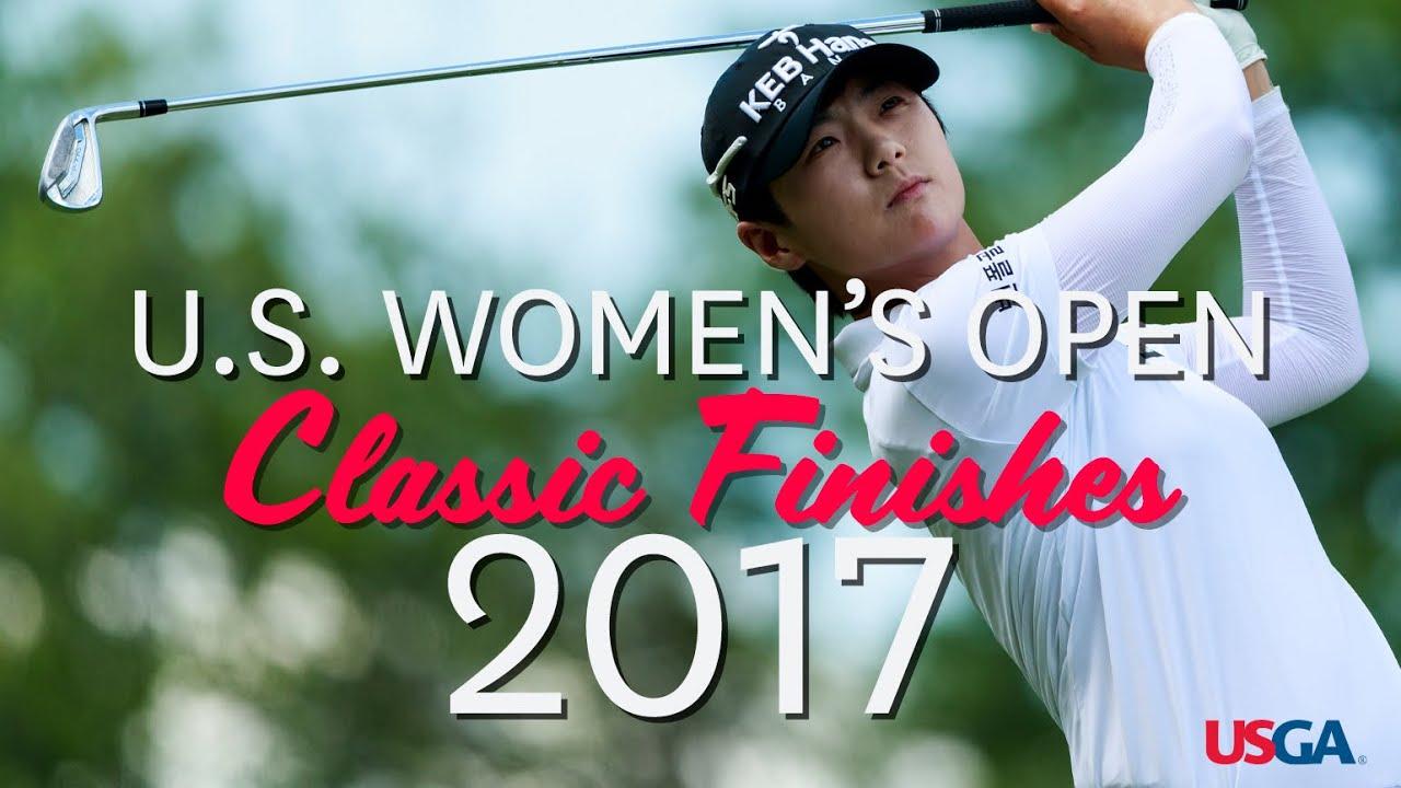 U.S. Women's Open Classic Finishes: 2017