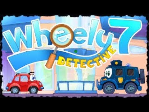 Wheelie 7 - Detective Mobile Game Full GamePlay Walkthrough All Levels