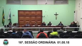 Sessão da Câmara   01.08.18
