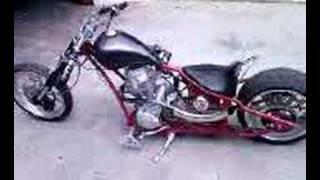 chopper 250cc 3/4