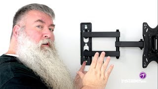 InstallerParts Episode 18 - Full Motion Swivel/Tilt TV Mount Installation