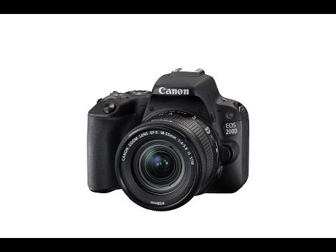 First Look: The Canon EOS 200D