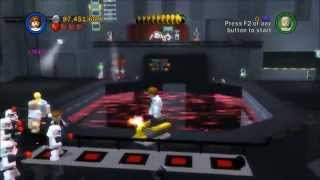 Lego Star Wars Saga - Episode 4 - Chapter 5 - Death Star Escape! - Gameplay/Walkthrough