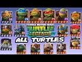 Teenage Mutant Ninja Turtles: Legends - All Turtles Character Fight