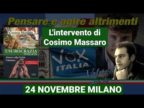 VOX ITALIA 24 NOVEMBRE MILANO