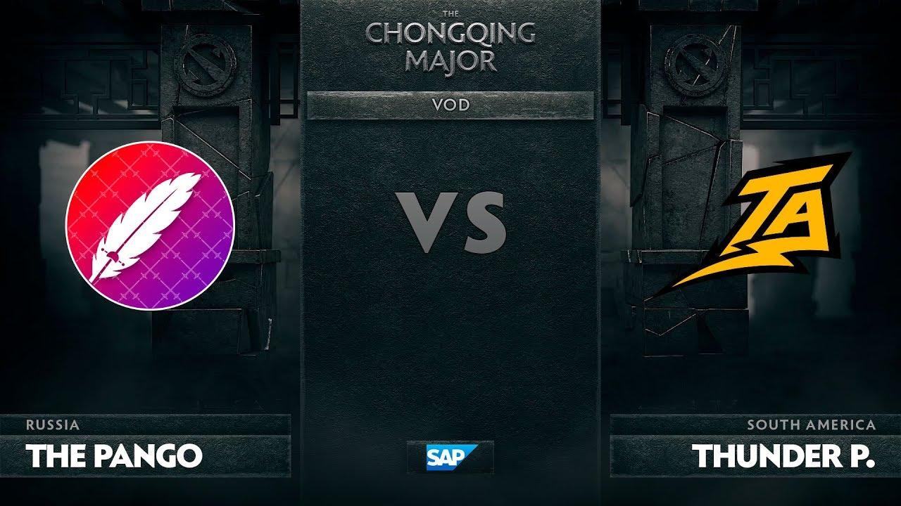 [EN] The Pango vs Thunder Predator, The Chongqing Major LB Round 1