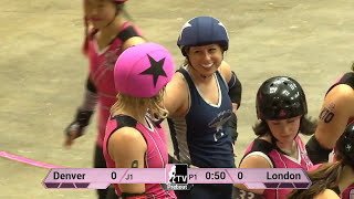 London Rollergirls v Denver Roller Dolls: D1 Playoffs Fort Wayne