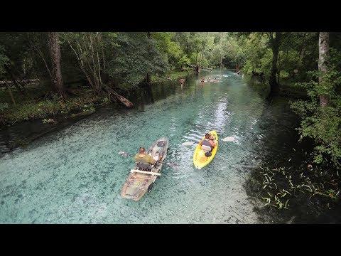 Florida Travel 360° Video: Kayak Gilchrist Blue Springs State Park