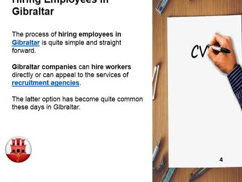 Workforce in Gibraltar