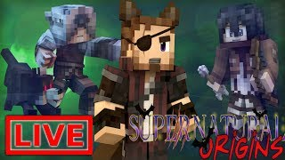 Lost Pups! Minecraft Supernatural Origins #31.5 (Live Modded Survival)