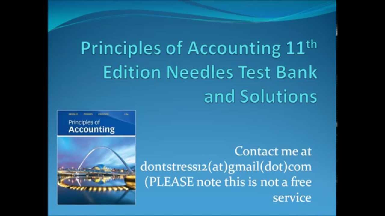 intermediate accounting 11th edition test bank