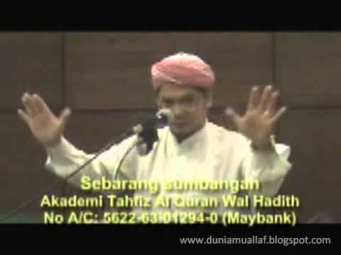 "UST. YOHANES (Mantan Pastur), Masuk Islam Stelah Bandingkn Al Qur'an VS Injil: ""Yesus Hanya Utusan!"""