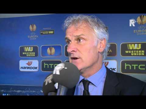 Fred Rutten na afloop van Sevilla - Feyenoord