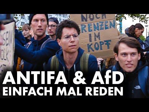 Realsatire: Antifa trifft