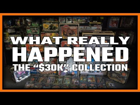 $30,000 Stolen Star Wars Collection, What Really Happened, My side of The Story