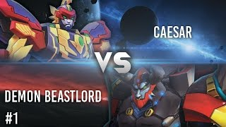 Hero Of Robots : Caesar VS Demon Beastlord #1