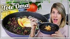 Tote Oma | Blutwurst mit Sauerkraut & Kartoffeln  | DDR Rezept | Felicitas Then
