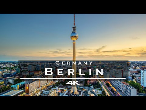 Berlin, Germany 🇩🇪 - by drone [4K]