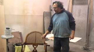 Refinishing A Cherry  Rocker  Timeless Arts Refinishing