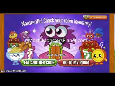 Moshi Monsters Secret Cheat Codes 2013