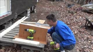 Building My Own Tiny House Kitchen Cabinets N8