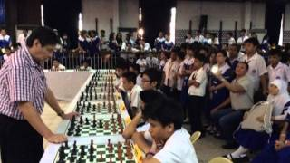 GM Eugene Torre Chess Exhibition @ NTC 2014