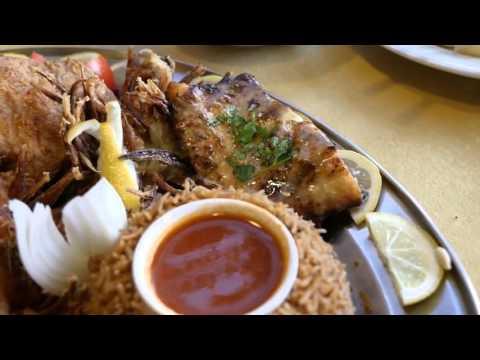 Mr. Mark Wiens at Ocean restaurant Dead-sea