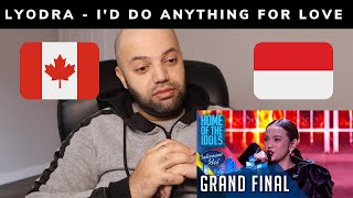 Gambar cover LYODRA - I'D DO ANYTHING FOR LOVE Reaction   #Lyodra #IndonesianIdol2020 #Reaction #Trending #Canada