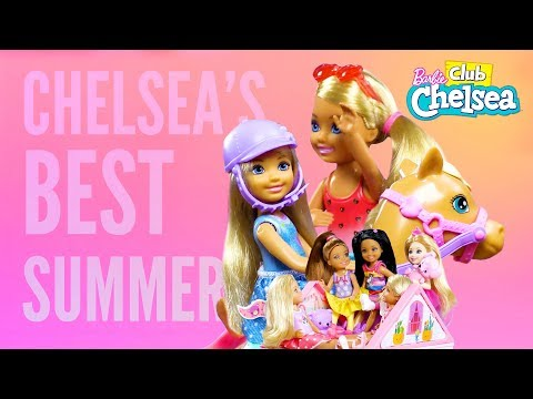 Chelsea's Top 4 Summertime Moments | Barbie