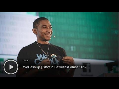 WeCashUp 2.0 | Launch on TechCrunch Startup Battlefield Africa 2017