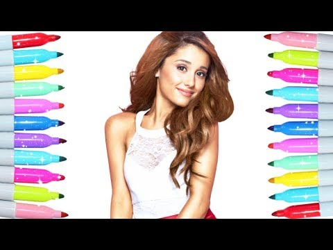 Colouring Pages For Kids Ariana Grande Colouring Book Colouring Pages Youtube