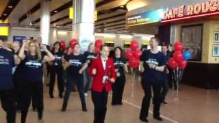 Delta Air Lines - Day of Hope Flash Mob at London Heathrow