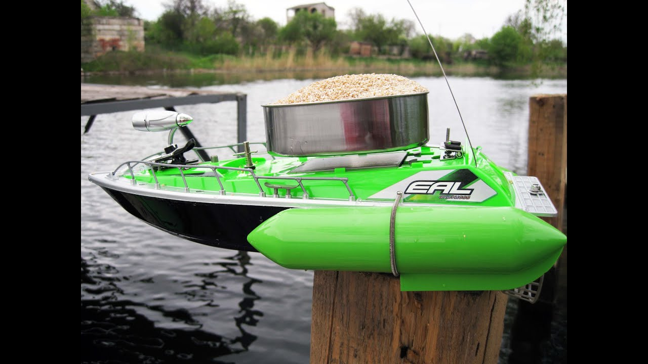 кораблик для прикормки торнадо