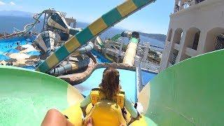 Coaster Tower Water Slide at The Ocean Waterpark