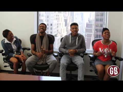 Exclusive: The Walls Group Performs Satisfied Acapella