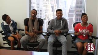 "Exclusive: The Walls Group Performs ""satisfied"" Acapella"