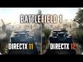 BATTLEFIELD 1 SP DirectX 12 vs DirectX 11   GTX 1070 Frame Rate Comparison