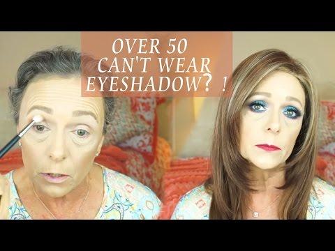 WOMEN OVER 50 CAN'T WEAR EYESHADOW