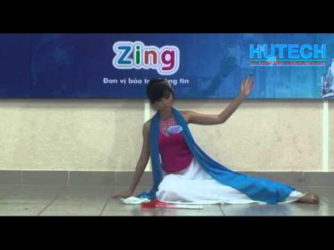 Miss Hutech 2012 - Múa: Giấc Mơ Trưa - Thí sinh Nguyễn Lệ Hoa Tiên
