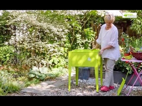 Comment r aliser un petit potager pour terrasse youtube - Dutronc petit jardin youtube limoges ...