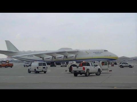 RARE VLOG: Antonov An-225 Mriya Takeoff RWY 05 @ Toronto Pearson Int