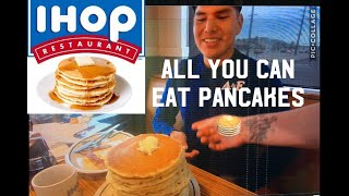 IHOP ALL  YOU CAN EAT CHALLENGE 🥞