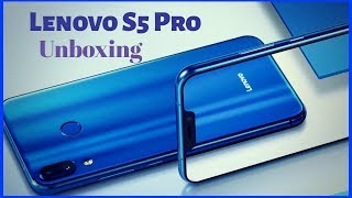 Lenovo S5 Pro Unboxing |Review |Specifications |Features |Price |Design |Comparison |Camera |Ram