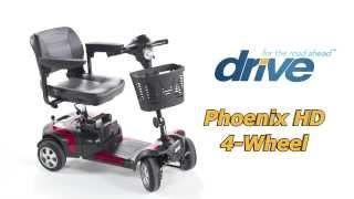 Drive Phoenix HD 4 Wheel Travel Scooter