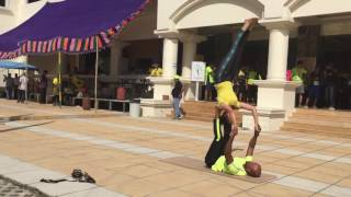 Acroyoga flow demonstration by acroyoga chennai