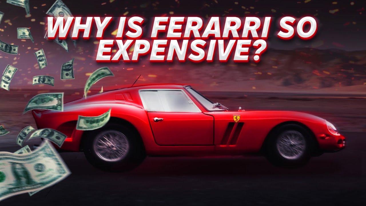 Зошто автомобилите Ferrari се толку скапи?
