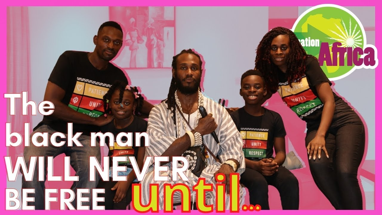THE BLACK MAN WILL NEVER BE FREE until he comes home to Africa! Says Ọbádélé Kambon