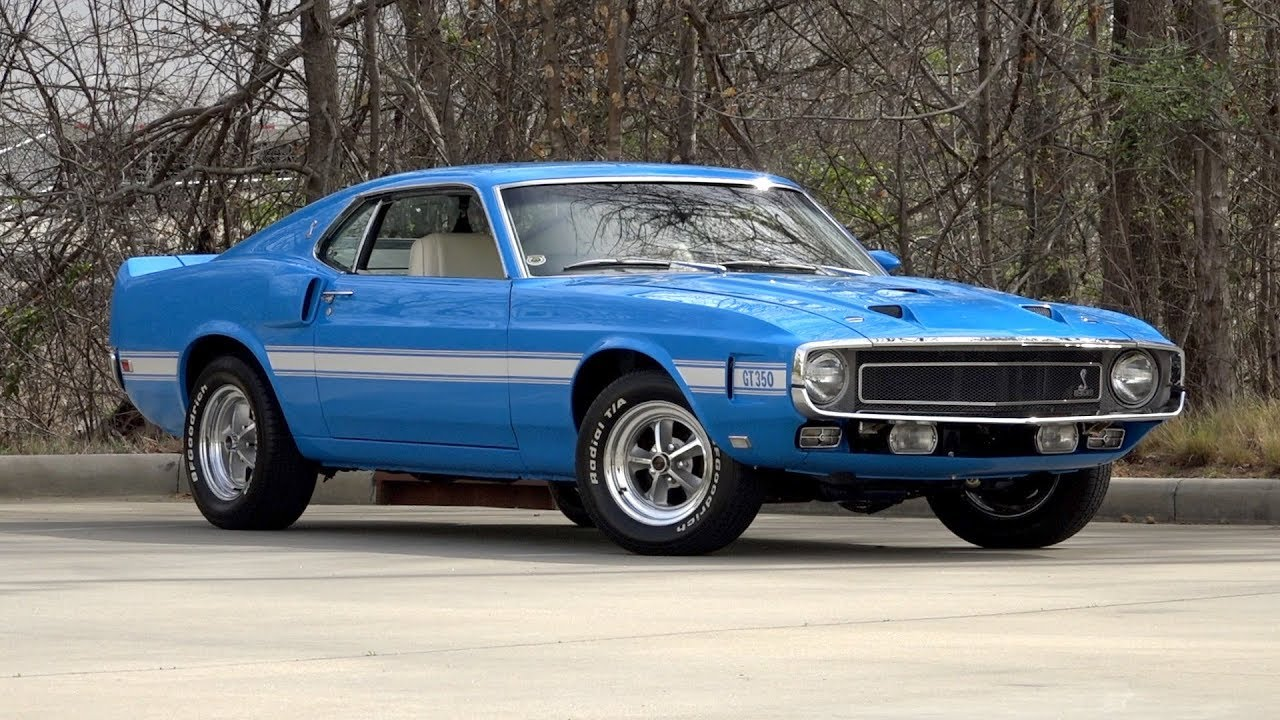 1969 Shelby Gt350 Sold 136190